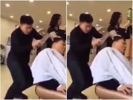 Bạn có thể ngồi quá 5 phút để anh chàng này cắt tóc?
