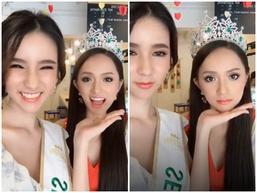 Ngất ngây với tuyệt sắc một chín một mười của Hoa hậu Chuyển giới Hương Giang và Á hậu Yoshi