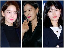 Hơn đàn em 20 tuổi, bà xã Jang Dong Gun vẫn tự tin đọ sắc với Yoona và Suzy