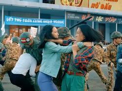 Hé lộ phân cảnh đánh nhau ác liệt của Hoàng Oanh và Hoàng Yến Chibi