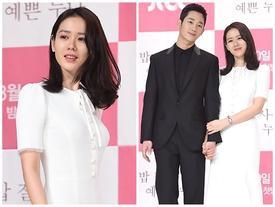'Tình đầu quốc dân' Son Ye Jin khoe nhan sắc nữ thần bên cạnh trai trẻ kém 6 tuổi
