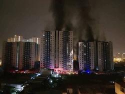 Cháy chung cư Carina: Chủ đầu tư nhập viện, từ chối tiếp xúc cơ quan điều tra