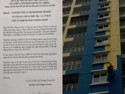 Cư dân đề nghị ngăn chặn ngay 'việc xóa vết tích vụ án' tại Carina Plaza