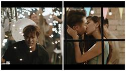 Sau tin đồn tình ái với Quốc Thiên, Hoàng Ku hôn môi Đồng Ánh Quỳnh trong MV của Lou Hoàng
