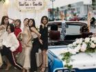 Hot girl - hot boy Việt: Dàn hotteen đồng loạt khoe ảnh tạo dáng 'lầy lội' trong đám hỏi JustaTee - Trâm Anh