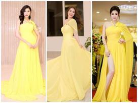 Á hậu Thúy Vân diện lại váy cũ của Phạm Hương: Kẻ tám lạng - người nửa cân