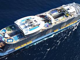 Khám phá du thuyền lớn nhất thế giới