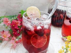 Mùa dâu tằm, làm ngay nước dâu thơm ngon, tươi mát uống thôi