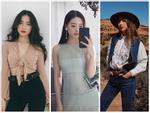 Khánh Linh The Face lộ nội y kém duyên - Quỳnh Anh Shyn hóa cao bồi nổi bật nhất street style giới trẻ
