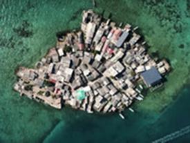 Hòn đảo rộng bằng hai sân bóng có cả nghìn người sống