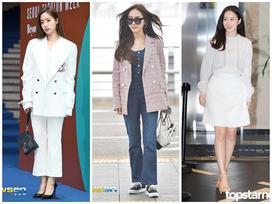 Mix đồ bạo tay, Jessica - Eunjung vẫn đẹp bất chấp nhờ khí chất hơn người