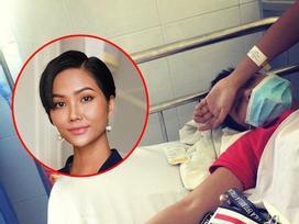 Hoa hậu H'Hen Niê nhập viện và được chẩn đoán ngộ độc thực phẩm
