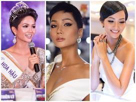 Muôn kiểu tóc ngắn 'gây thương nhớ' của Hoa hậu Hoàn vũ Việt Nam H'Hen Niê