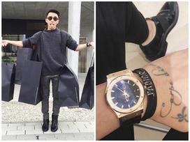 Bóc giá bộ sưu tập đồng hồ nhiều tỷ của stylist Hoàng Ku