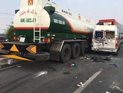 Tai nạn trên cao tốc Long Thành - Dầu Giây: Đóng tạm hướng vào từ huyện Long Thành