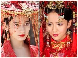 Mê mẩn trước nhan sắc diễm lệ của những tân nương xinh đẹp nhất màn ảnh Hoa ngữ