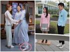 Bóc mẽ thủ thuật ăn gian chiều cao của sao Hoa ngữ trên phim trường
