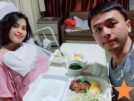 Tú Vi bảo vệ chồng khi Văn Anh bị chỉ trích 'để vợ vừa sinh con đã phải ăn cơm hộp'