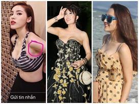 Không công khai phẫu thuật nhưng dàn mỹ nhân Việt chẳng thế che nổi dấu tích nâng ngực