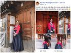 Đăng ảnh mặc Hanbok cực xinh nhưng caption 'lầy' đúng chất Bích Phương mới làm dân mạng dậy sóng!