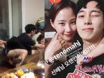 Sao Hàn 8/4: Giám khảo và thí sinh của show truyền hình nổi tiếng bị lộ ảnh nhạy cảm