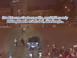 Video toàn cảnh vụ tai nạn kinh hoàng ô tô kéo lê xe máy ở Hà Nội