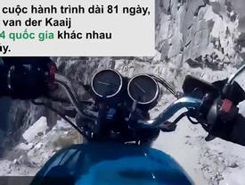 Mạo hiểm đi xe máy trên núi Himalaya