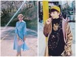 Chẳng hẹn mà gặp, Gil Lê - Chi Pu khoe street style cực chất ở xứ sở kim chi