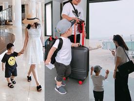 Hot girl - hot boy Việt: Ly Kute tận hưởng cuộc sống bình yên, cùng con đi du lịch khắp nơi