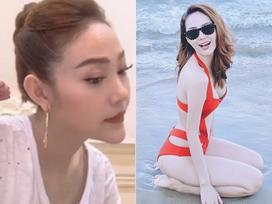 Tin sao Việt: Minh Hằng khoe ảnh quyến rũ với bikini sau ồn ào mặt lạ hoắc và cằm biến dạng