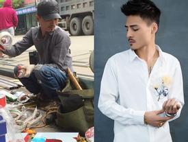 Xôn xao bức ảnh Hoa Vinh lấm lem lao động, bà Mai Hương phủ nhận: 'Đó không phải con trai tôi'