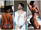Sau hình ảnh gầy rộc vì nhập viện, H'Hen Niê tự tin 'tái xuất' khoe dáng bốc lửa với bikini