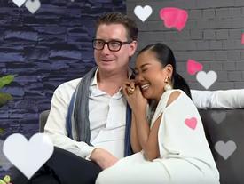 Đoan Trang hạnh phúc kể lại khoảnh khắc nhẫn cầu hôn được gài trong râu tôm hùm