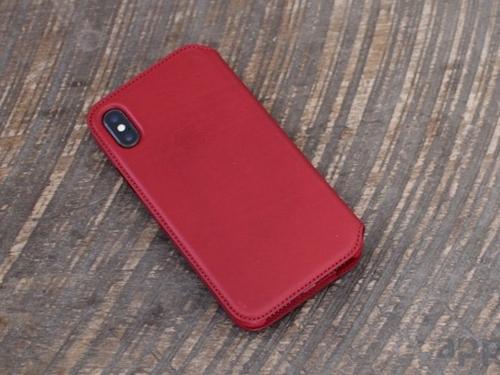 Không có iPhone X RED, mua ngay bao da đỏ siêu đẹp này cho iPhone X