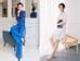 Vốn sở hữu chiều cao lý tưởng nhưng với cách tạo dáng cộng thêm vài đường chỉnh sửa photoshop, bức ảnh (bên trái) của Khánh Linh The Face khiến người xem chỉ tập trung vào đôi chân dài.