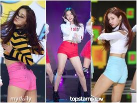 Nhóm nhạc nữ mới nổi bị chỉ trích vì thường xuyên mặc quần ngắn