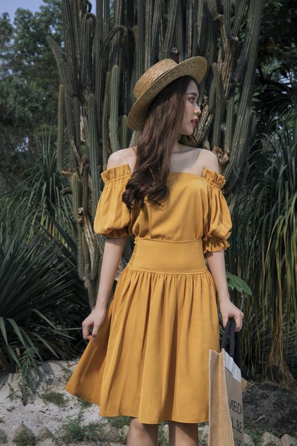 Váy xuống phố ngày hè 2