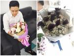 Hot girl - hot boy Việt: Phan Thành tìm chủ nhân bó hoa 'giống nấm mèo' trong sinh nhật tuổi 29