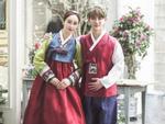 Nữ diễn viên phim 18+ xứ Hàn khoe ảnh cưới bên chồng trẻ kém 18 tuổi
