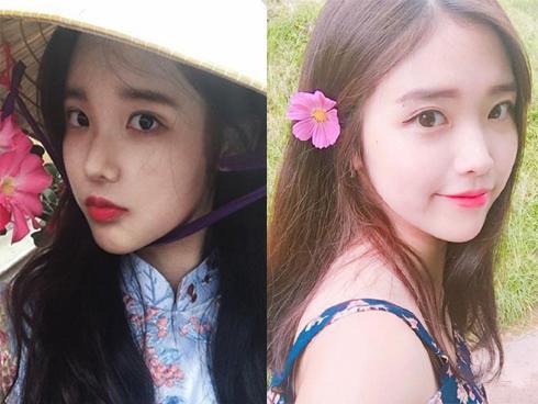 Khoe ảnh diện áo dài đội nón lá, cô gái Hàn Quốc khiến nhiều người ngỡ ngàng vì đẹp 'không góc chết'