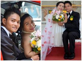 Chuyện tình đẹp của cặp 'đũa lệch' chồng cao, vợ chưa đến 1m