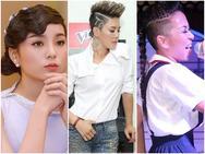 Không riêng gì Thu Phương, nhiều ngôi sao cũng khiến fan giật mình vì tóc dị!