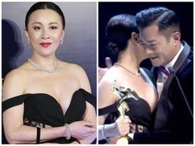 Đứng trước khoảnh khắc Lưu Gia Linh mặc váy trễ nải, Cổ Thiên Lạc được khen ngợi chỉ với hành động này