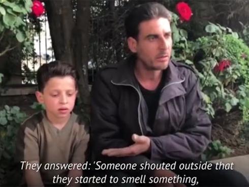 Lời kể sốc của nhân chứng sống 'vụ tấn công hóa học' ở Syria