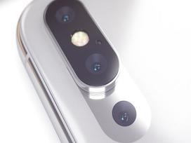 Bản dựng iPhone X Plus với cụm 3 camera độc đáo