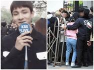 Bị fan NCT xô đẩy, Samuel không phải là nạn nhân duy nhất hôm ấy