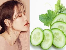 'Chị đẹp mua cơm ngon cho tôi' Son Ye Jin tiết lộ bí quyết trẻ mãi nhờ dưa chuột