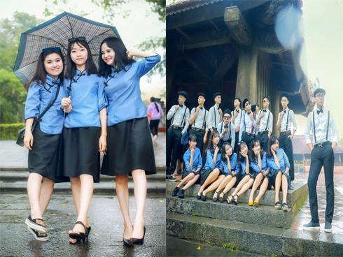 Chụp kỷ yếu phong cách Bến Thượng Hải nhưng ngoại hình đáng yêu các nữ sinh mới khiến người khác chú ý