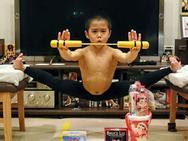 Bé trai Nhật Bản luyện võ 5 tiếng mỗi ngày để trở thành Lý Tiểu Long