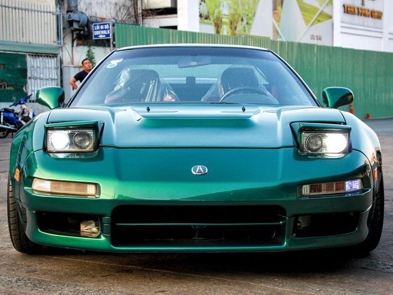 Huyền thoại Acura NSX đời 1996 'hàng hiếm' tại Việt Nam
